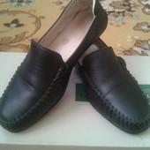 туфли макасины кожа р.37 на мальчика Турция