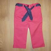 Нарядные штаники для девочки на 9-12 мес. F&F
