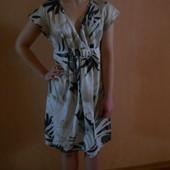 летнее батистовое платье, S/M, наш 44/46, Укрпочта +10 грн