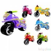 Каталка мотоцикл 11-006,от Киндер вей. Хорошее качество. 6 цветов