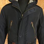 Мужская куртка Парка демисезонная с капюшоном