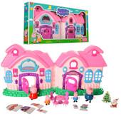 Большой дом Свинка Пеппа с мебелью и фигурками 666-003-1