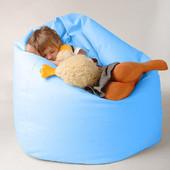 Детское кресло-мешок груша 100х75 см из микророгожки