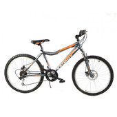 Азимут Вольтеж 24 дисковые тормоза Azimut Voltage D горный одноподвес подростковый велосипед