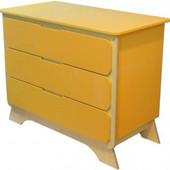 Комод с пеленальным столиком «Nova», Indigo Wood 32895 оранжевый