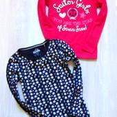 Новый комплект регланов для девочки. Lupilu. Размер 4-6 лет