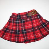 теплая юбка Next на 3-6 мес.