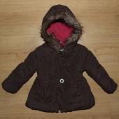 74-80р Куртка полупальто зимнее Topolino Германия
