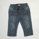 Леопардовые джинсы 0-6 мес.