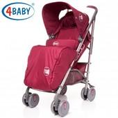 Детская коляска прогулочная 4baby - City (4 цвета)