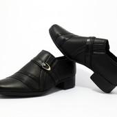 Детские туфли классические для мальчика ТМ Calorie