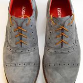 Туфли кожаные  Мужские  Derby Oxford  размеры 40-45 259