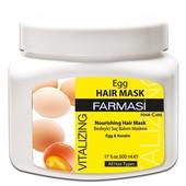Восстанавливающая крем-маска для волос с экстрактом яичного желтка Farmasi Egg Vitalizing Hair Care