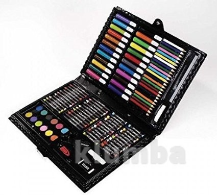 Darice 120-piece art set набор для творчества darise фломастеры карандаши краски фото №1