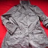 Фирменная стильная куртка парка