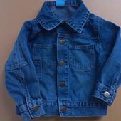 Джинсовая курточка +курточка