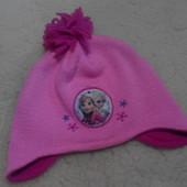 Демисезонная шапочка Frozen at George на девочку 4-8 лет