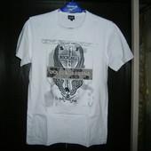 Dolce & Gabbana белоснежная футболка хлопок стрейч L-XL