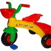 Детский! Трехколесный велосипед Kinderway Kinder Bike (10-001) 3еленый