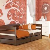Деревянная детская, подростковая кровать «Нота +»