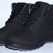 Ботинки Restime натуральный нубук зима