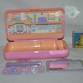Дом домик косметичка Polly Pocket Bluebird для малюсеньких маленьких куколок карманный полли покет