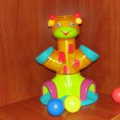 Музыкальный жираф с мячиками Bright Starts