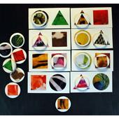 Карточки и фишки для занятий с ребёнком Флора и Фауна