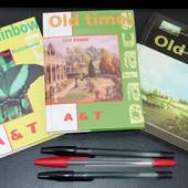 Суперлот!Записная книга -алфавитка (1 на выбор,черной нет)+ 3 ручки