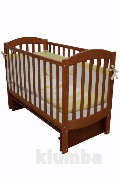 Детская кроватка Верес Соня ЛД10 маятник без ящика ольха 10.1.02 фото №1