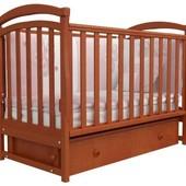 Детская кроватка Верес Соня ЛД6 маятник ольха 06.02