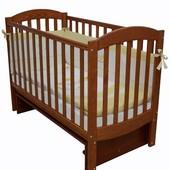 Детская кроватка Верес Соня ЛД10 маятник без ящика ольха 10.1.02