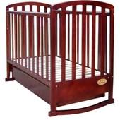 Детская кроватка Casato BC-475R тёмный орех
