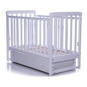 Детская кроватка Верес Соня ЛД12 маятник,ящик,лапки слоновая кость 12.1.04