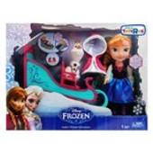 большой игровой набор Frozen Холодное сердце Анна с санями, снеговиком Олафом