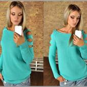 Модный свитер 42-46р