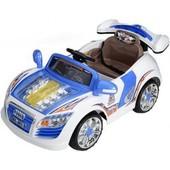 Детский электромобиль Bambi M0560, радиоуправляемый цвет голубой