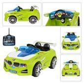 солнечная батарея!! Электромобиль Bambi M0669, радиоуправляемая, цвет Lime White