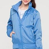 (D-871) Куртка - ветровка С&А голубая р. 158