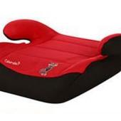 Автокресло-бустер, 22-36кг, Bambi M 2426, цвет Красно-черный