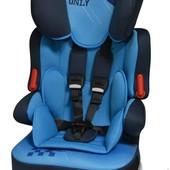 Качественное автокресло, 9-36, bertoni X-Drive Plus blue Pilot