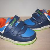 Детские кроссовки для мальчика Clibee клиби Румыния р. 21-26 с мигалками
