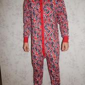 Слип пижама человечек трикотажный р M-L