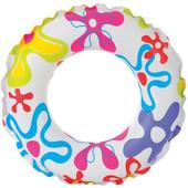 Надувной круг, от 5 до 10 лет, Intex Цветной (59241)