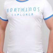 Модная футболка Натуральная ткань