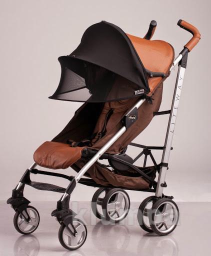 Солнцезащитный козырёк на коляску, КАП с сеточкой фото №1