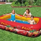 Надувной детский бассейн, Тачки, молния Маквин, Intex 57478
