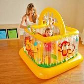 Игровой центр - манеж Intex 48473 Baby Gym 117*117*117 см
