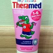 детская зубная паста my little Theramed Терамед 50мл 1-6 лет без сахара Германия