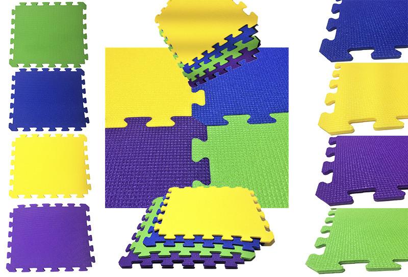 Игровой коврик – пазл, 12 штук, 1920×1440×10мм, 2,7м² хс ппэ 55кг/м³ фото №1